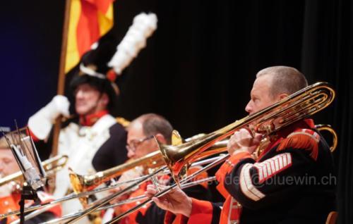 Concert réunissant la Musique Municipale de Versoix (MMV) et Musique & Batterie de marche des Vieux-Grenadiers de Genève.25 novembre 2018, 17h00, Salle communale Lachenal©lactudegeneve.ch