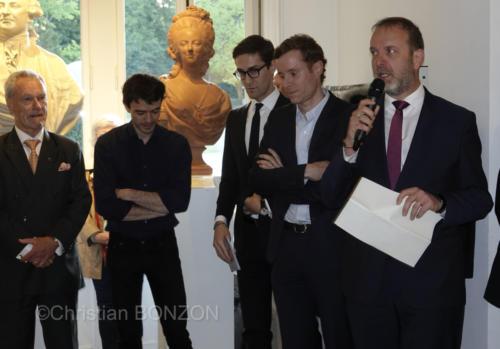 Avec Thierry Apothéloz Conseiller d'Etatet Fréderic Juillard Rédacteur en chef Tribune de Genève
